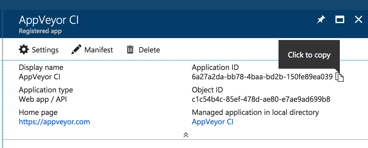 Enabling code signing with NuGet, Azure Key Vault, and AppVeyor
